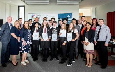 Robertson helps Clyde Gateway pupils engineer a career in construction