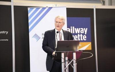 Rail Minister calls for digital skills and diversity in rail industry at Railtex 2019