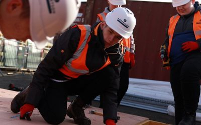 Clackmannanshire students play a part in transformative £15m Tullibody project