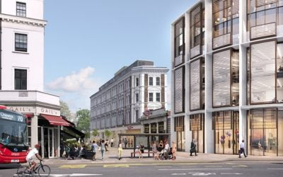 New vision to revitalise South Kensington Tube station and enhance the historic surrounding space with new homes, shops and workspace