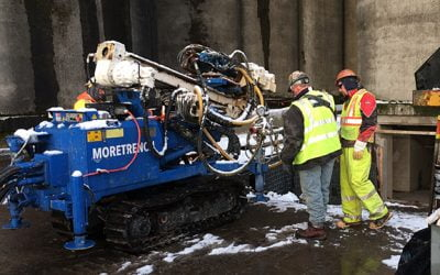 Moretrench stabilises silo foundations