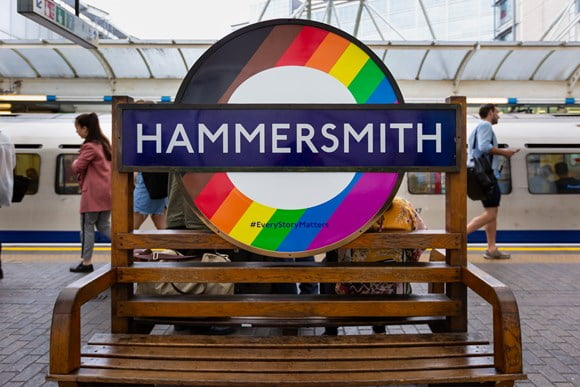 Transport for London celebrates diversity with new roundels for Pride