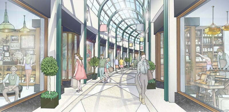 NORTH STREET ARCADE TO RETURN AS CASTLEBROOKE INVESTMENTS LAUNCHES VOLUNTARY PUBLIC CONSULTATION ON TRIBECA BELFAST PLANNING AMENDMENTS