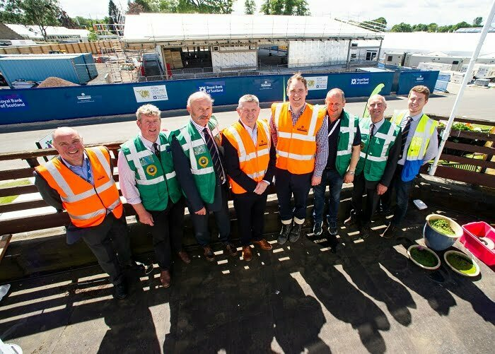 TOPPING OUT FOR ROYAL HIGHLAND CENTRE'S NEW £4.8M PAVILION