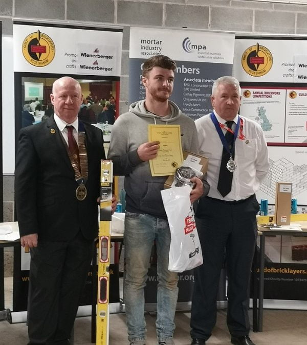 GUILD OF BRICKLAYERS CROWNS NATION'S BEST BRICKY AT THE CITY OF LIVERPOOL COLLEGE