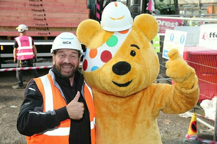 DIY SOS BBC Children in Need special comes to Blackburn with Darwen