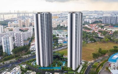 The highest Concrete Modular Towers Ever Built Are Delivered in Singapore