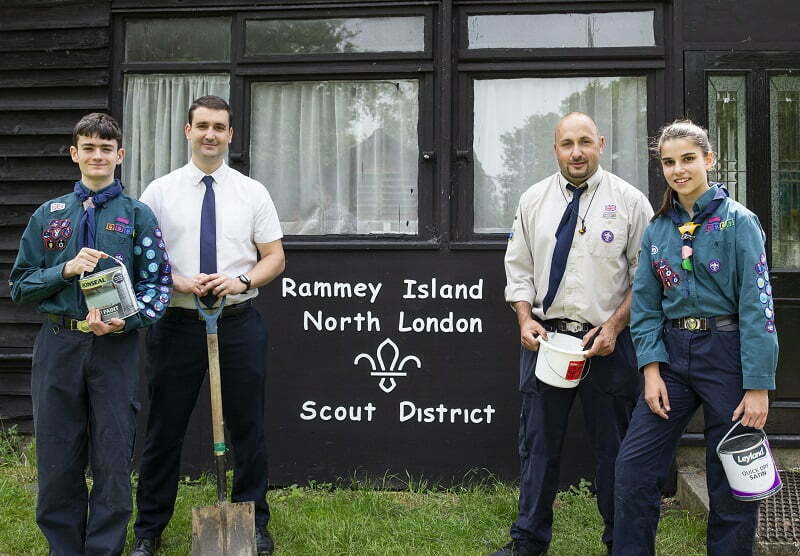 RUN-DOWN SCOUT CAMPSITE GIVEN FACELIFT