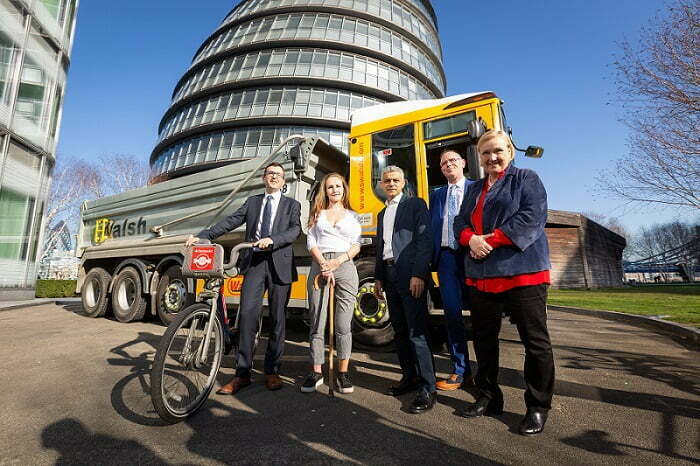 Three months to go until the first phase of the Mayor's Direct Vison Standard for HGVs