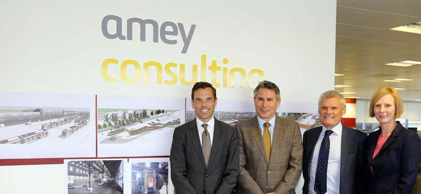 New Amey design hub in Cardiff welcomed by Transport Minister
