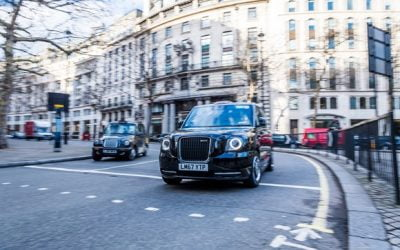 Cabbies take up £30m of new green grants to help switch to cleaner vehicles