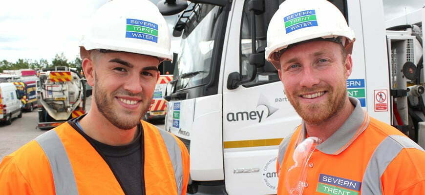 ITV documentary series features Amey sewer stars