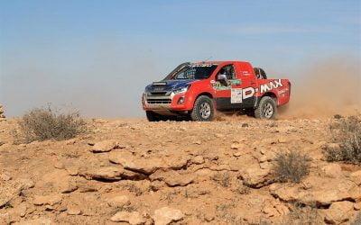 Isuzu D-Max wins its class at tough Africa Eco Race 2019