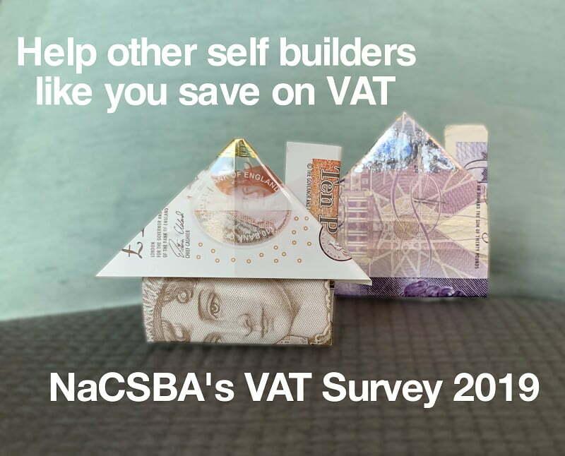 NaCSBA Self and Custom Build Homes VAT Survey 2019