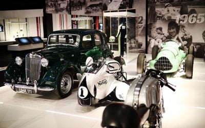 MOTOR RACING ARCHIVE TO GO ON DISPLAY AT NEW £20M NATIONAL VISITOR ATTRACTION 'THE SILVERSTONE EXPERIENCE