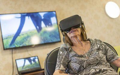 Local dementia scheme residents escape to a virtual world