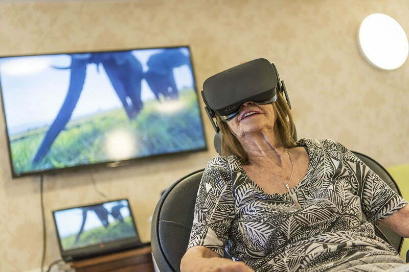 Local dementia scheme residents escape to a virtual world