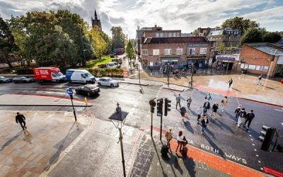 Major work to transform Highbury Corner is complete