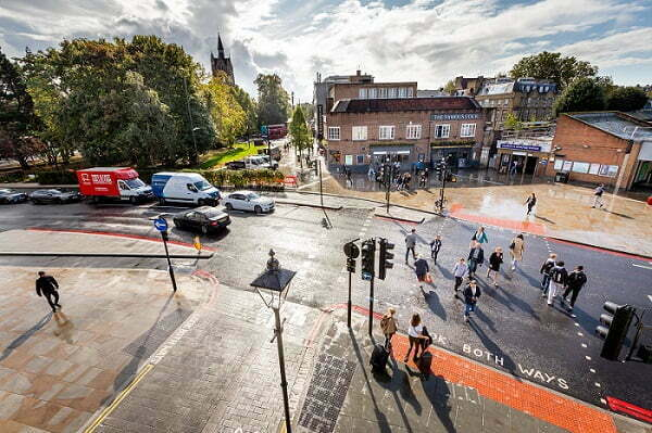 Major work to transform Highbury Corner is complete