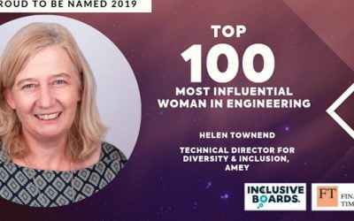 Amey's Helen Townend is in the top 100 most influential Women in Engineering in the UK