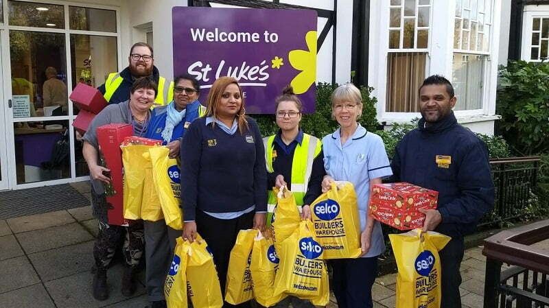 Builders Warehouse Gives Charities £20k Supplies Boost