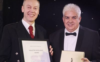 ROBERTSON DIRECTOR WINS INDUSTRY AWARD FOR COMMITMENT TO HIGHLANDS CONSTRUCTION INDUSTRY