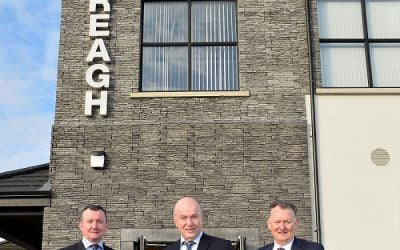 Creagh Concrete invests £1m in new offices to accommodate growth from GB market