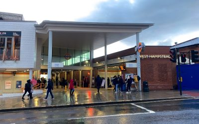Work to improve London Overground's West Hampstead station is complete
