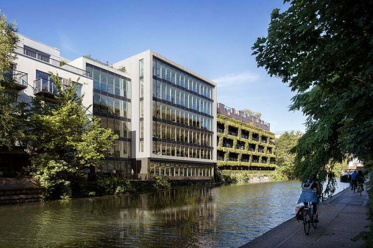 SOUTHERN GROVE UNVEILS £33MILLION SUSTAINABLE CANAL SIDE OFFICE DEVELOPMENT IN SHOREDITCH