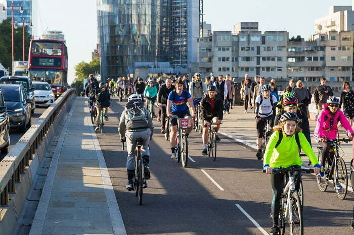 TfL using artificial intelligence to help fuel London's cycling boom