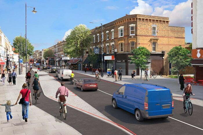 Major north London town centre set to be transformed into a safer, healthier and better place for people