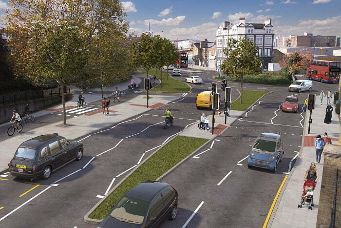 TfL unveils plans to build a major new Cycleway in southeast London