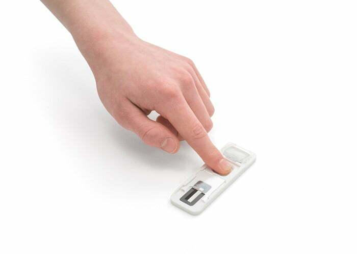 Finger Print drug tester