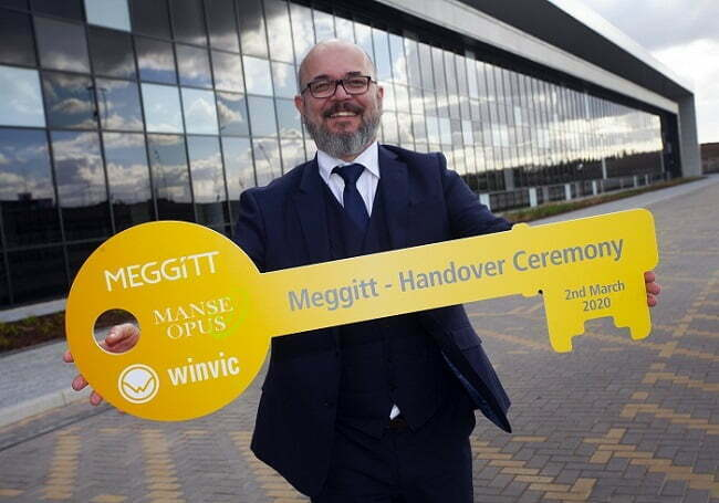 Winvic Construction Hands Over Keys to Specialist Aerospace Manufacturing Facility in Coventry