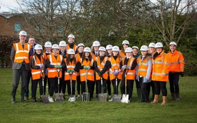 Perth Grammar School Partners With Robertson to Plant Trees as Part of Carbon Offsetting Programme