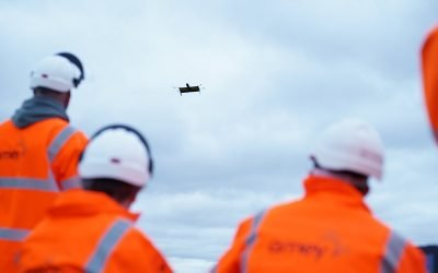 AmeyVTOL Trials UK First 'Beyond Visual Line of Sight' Drone Inspection