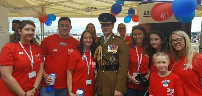 Amey Exceeds SSAFA Fundraising Target Thanks to a Donation From Ferrovial, Amey's Parent Company