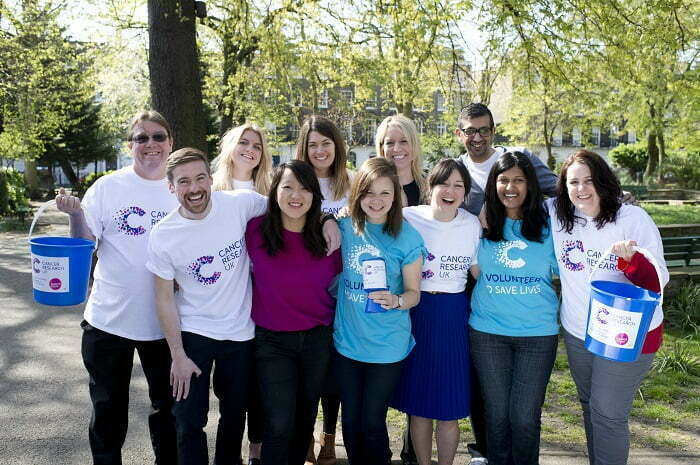 Amey Employees Choose Cancer Research UK For Two-Year Charity Partnership