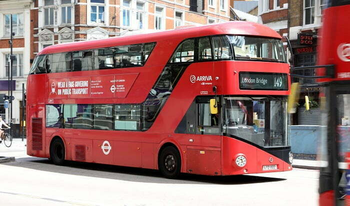 24/7 Bus Lanes Proposed For London's Busiest Roads to Support a Sustainable Recovery From The Pandemic
