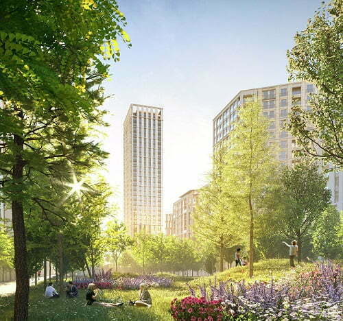 Berkeley Launches Visionary Regeneration Scheme in East London
