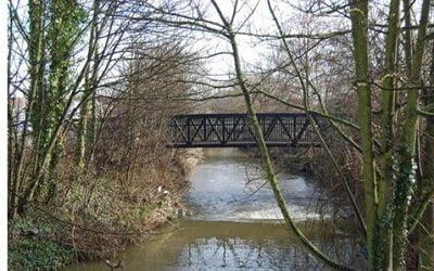 Amey Builds First Plastic Footbridge in Kent