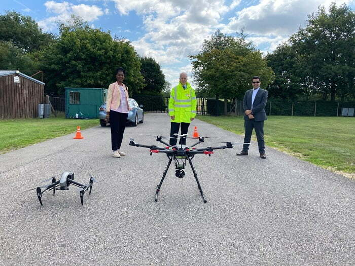 Amey Trials Drone Technology To Identify Defects On Kent Roads