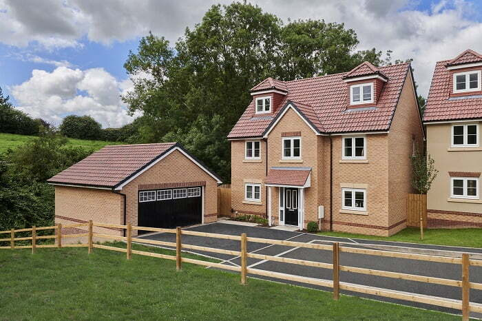 Elan Homes the company behind Weavers Field in Castle Cary (pictured) has acquired land for housing in nearby Glastonbury_ (002)