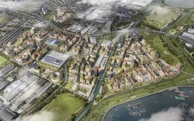 Rapid Progress at Meridian Water Set to Provide Extensive Training and Jobs Opportunities for Local People