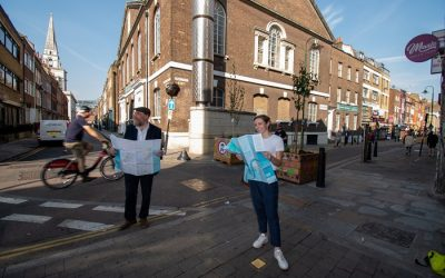 Boost for Walking as Transport for London Launches Central London Footways Created by London Living Streets and Urban Good