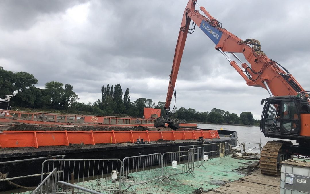 LAND & WATER WIN CONTRACT FOR WORKS AT THURROCK ON THE RIVER THAMES