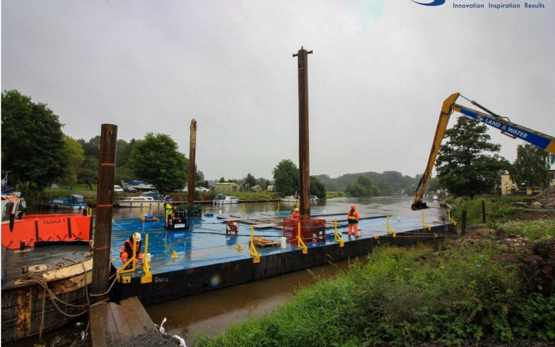 Land & Water Achieves Huge Milestone at 'Unlocking the Severn'  Project in Worcestershire