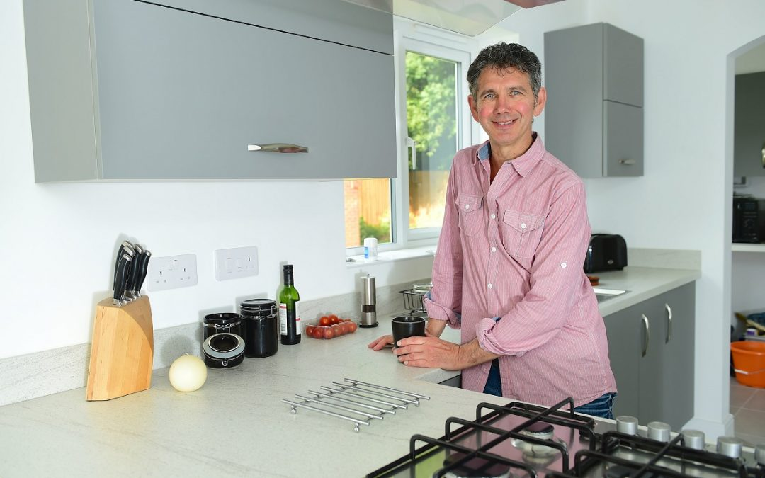 Leeds man becomes new home convert after 20 years