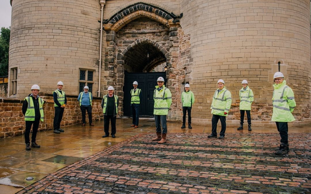 Excitement builds as landmark construction works are completed at Nottingham Castle