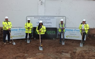 QDTS Construction Launches Partnership with Home-Fresh® to Banish Bad Bacteria and Build Freshness into New 70 Bed Student Accommodation Development